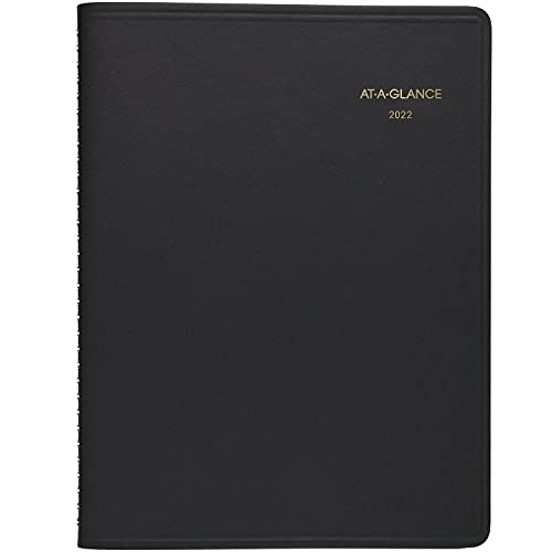 2022 Weekly Appointment Book & Planner by AT-A-GLANCE, 8-1/4' x 11', Large,...