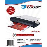 975 Supply 5 Mil Clear Letter Size Thermal Laminating Pouches, 9 X 11.5...
