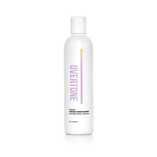 oVertone Haircare Purple Toning Conditioner with Shea Butter & Coconut Oil,...