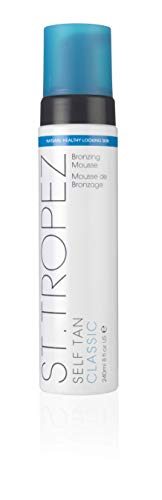 St. Tropez Self Tan Classic Bronzing Mousse, Vegan Self Tanner for a...