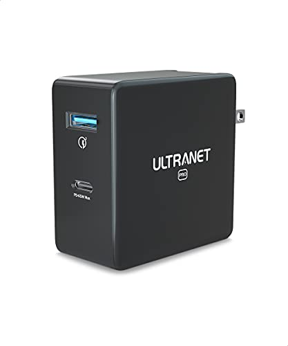 Fast Charger by ULTRANET, USB C Charger Block 65W 2-Port GaN PPS PD...
