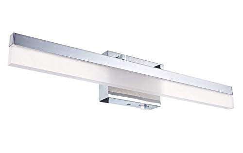 Cloudy Bay 3 Color Classic Acrylic Modern LED Vanity Light Fixture for...