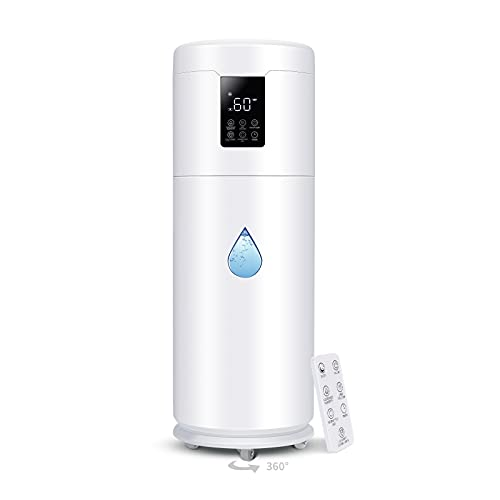 Tower Humidifiers Large Room Bedroom1000 sq ft,Honovos 17L 4.49Gal...