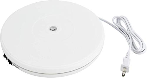 Homend 110V Electric Motorized Rotating Turntable Display Stand,...