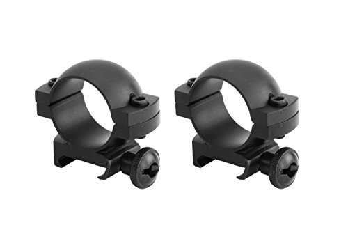 Monstrum Tactical Scope Ring Set for Picatinny/Weaver Rails   1 inch...