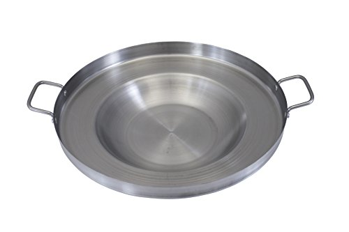 Concord Stainless Steel Comal Frying Bowl Cookware (22'), silver (S4008...