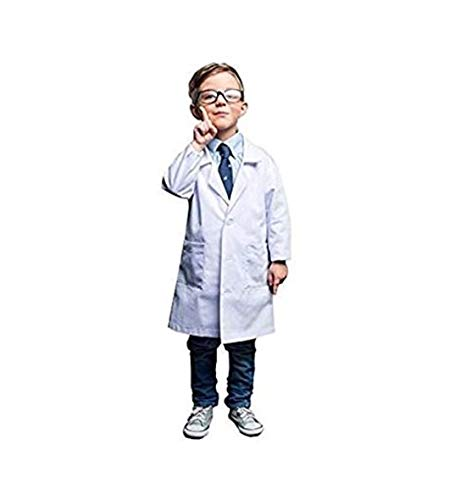 Natural Uniforms Real Children's Lab Coat for School Projects Halloween...