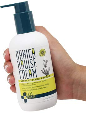 Pure Valley Arnica Bruise Cream with Vitamin K, Horse Chestnut and...
