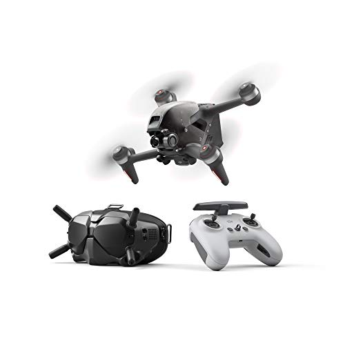 DJI FPV Combo - First-Person View Drone UAV Quadcopter with 4K Camera, S...