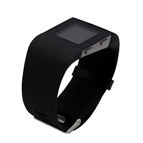 Replacement Bands for Fitbit Surge Watch, Silicone Compatible Metal Buckle...