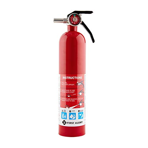 First Alert HOME1 Rechargeable Standard Home Fire Extinguisher UL Rated...