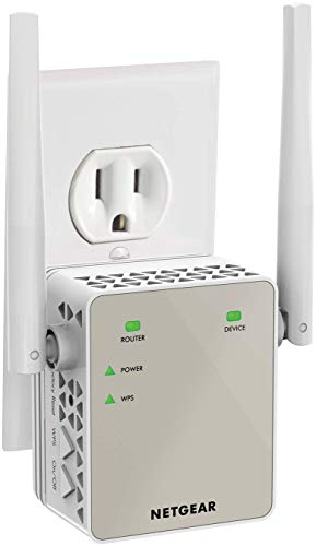 NETGEAR Wi-Fi Range Extender EX6120 - Coverage Up to 1500 Sq Ft and 25...