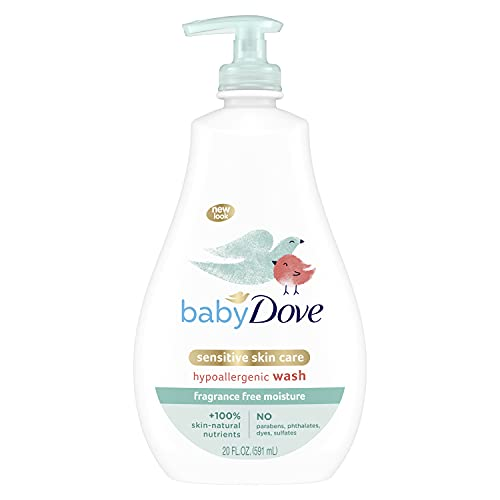Baby Dove Sensitive Skin Care Baby Wash For Baby Bath Time Fragrance Free...