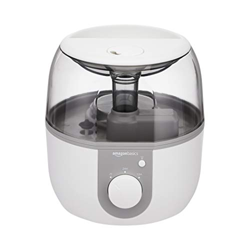 Amazon Basics Ultrasonic Cool Mist Humidifier with Essential Oil Diffuser...