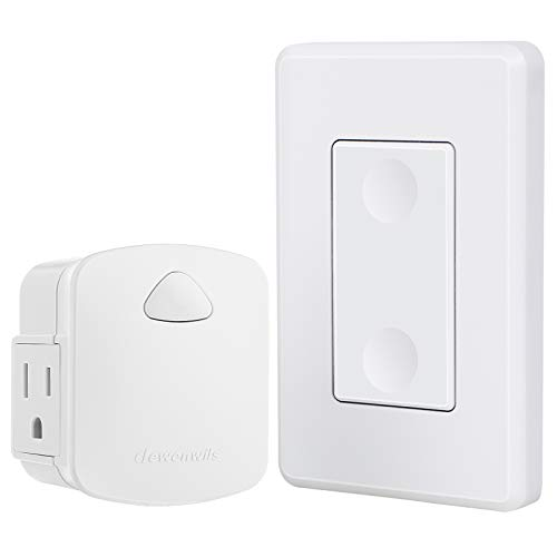 DEWENWILS Wireless Light Switch Remote Control Outlet, Remote Power Wall...