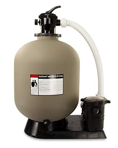 Rx Clear Radiant Complete Sand Filter System   for Inground Swimming Pool  ...