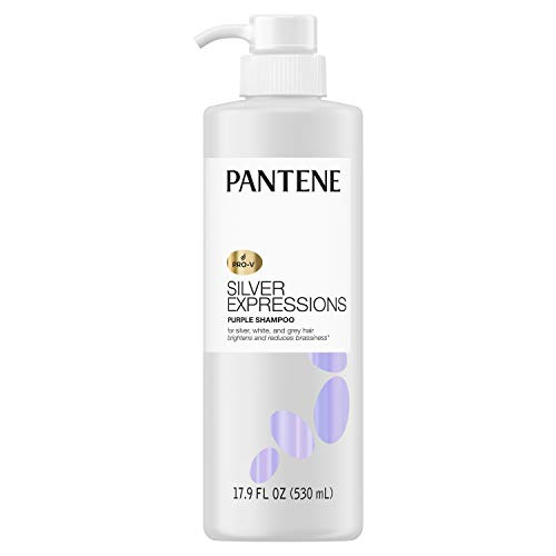 Pantene Silver Expressions, Purple Shampoo and Hair Toner, Pro-V for Grey...