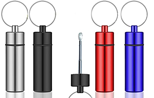 iSnuff Premium Snuff Container with Spoon Set | Metal Snuff Vial with...