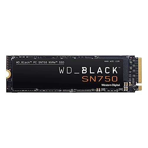 WD_BLACK 1TB SN750 NVMe Internal Gaming SSD Solid State Drive - Gen3 PCIe,...