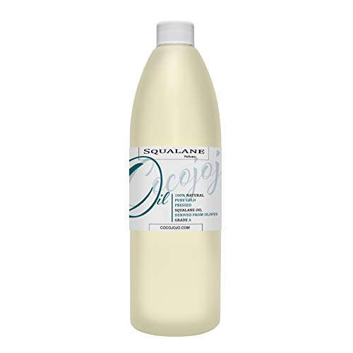 Squalane Oil 100% Pure Plant Derived Refined Cold Pressed Squalene From...