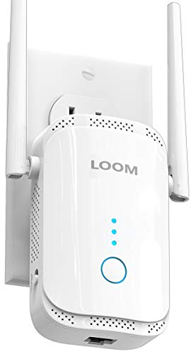 loom WiFi Extender Signal Booster up to 2640sq.ft- newest generation, 2021...