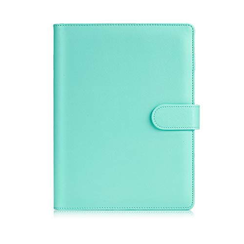 Sooez A5 Notebook Binder, 6 Ring Planner with Stylish Design, Loose Leaf...