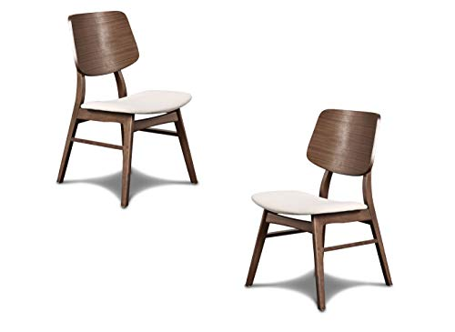 New Classic Furniture Mid-Century Modern Oscar Oval Back Dining Chair, Set...