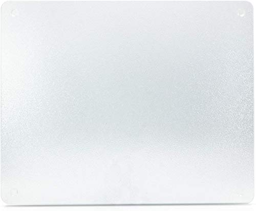 Surface Saver Vance 20 X 16 inch Clear Tempered Glass Cutting Board, , 20 X...