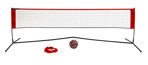 Wicked Big Sports Takraw Juggle Volleyball and Soccer Tennis Portable...