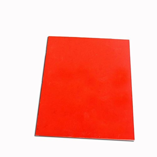 Orange Rubber Stamp Sheet for Laser Engraving Machine with A4 Size 2.3mm