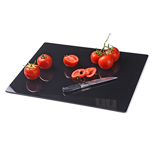 Ruomeng Tempered Glass Cutting Board Non Slip, Durable, Scratch Resistant,...