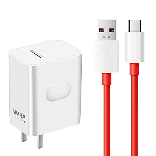 OnePlus 8 pro Warp Charger,30W Quick Rapid Charge Power AC Wall Adapter [5V...