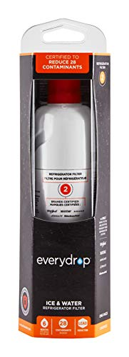 Everydrop by Whirlpool Ice and Water Refrigerator Filter 2, EDR2RXD1,...