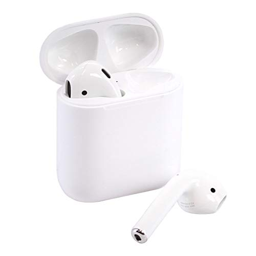 (Renewed) Apple AirPods 2 with Charging Case - White