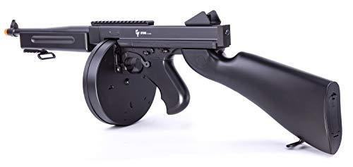 GAME FACE ASRGTH Electric Full/Semi-Auto Airsoft Submachine Gun With...