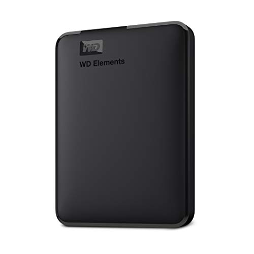 WD 2TB Elements Portable External Hard Drive HDD, USB 3.0, Compatible with...