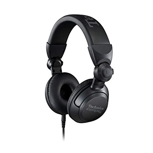 Technics Professional DJ Headphones with 40mm CCAW Voice Coil Drivers,...