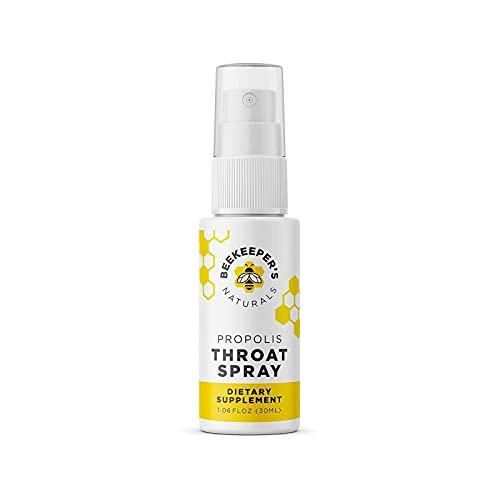 Beekeeper's Naturals Spray 95% Bee Propolis Extract-Natural Immune Support...