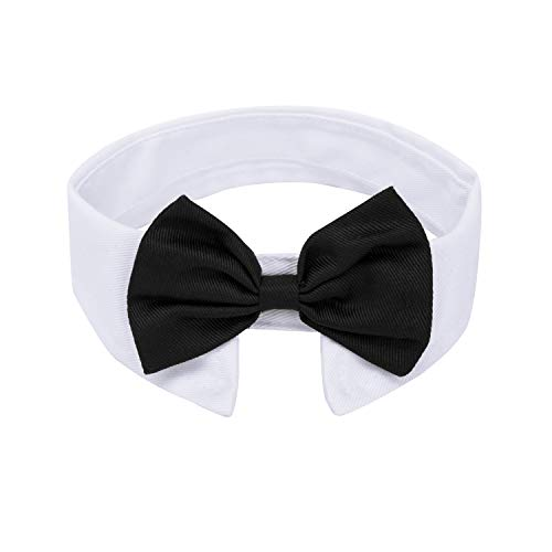 ZTON Handcrafted Adjustable Formal Pet Bowtie Collar Neck Tie for Dogs &...