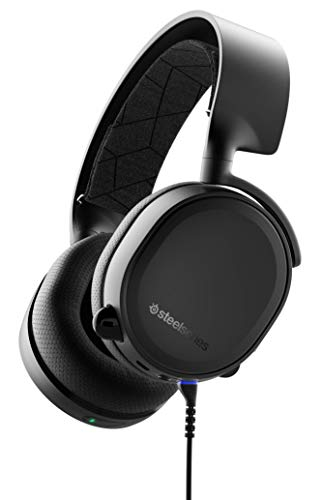 SteelSeries Arctis 3 Bluetooth - Wired and Wireless Gaming Headset - for...
