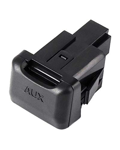 Aux Port Replacement Compatible with 2006-2011 Civic, Auxiliary Input...