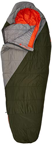 Kelty Cosmic Synthetic Fill 40 Degree Backpacking Sleeping Bag, Long –...