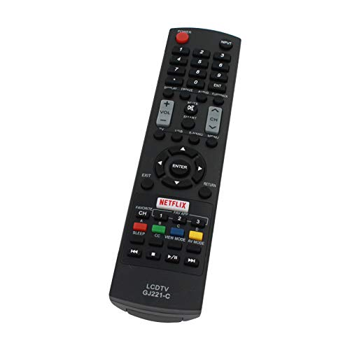 Replacement for Sharp GJ221 TV Remote Control Works with Sharp LC-32SV29U...
