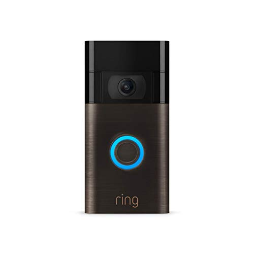 Ring Video Doorbell – newest generation, 2020 release – 1080p HD video,...