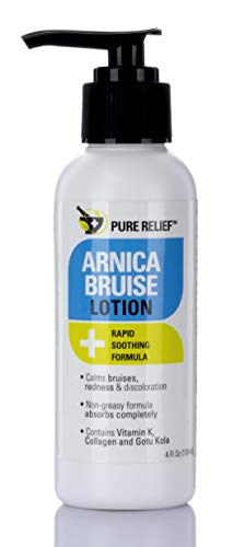Pure Relief Arnica Bruise Lotion. Rapid Relief for Bruising, Redness, and...
