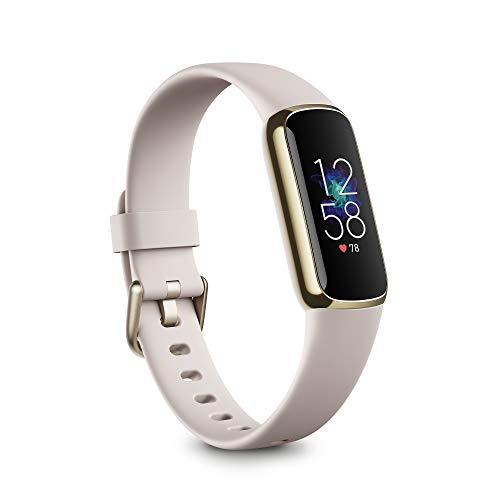 Fitbit Luxe Fitness and Wellness Tracker with Stress Management, Sleep...