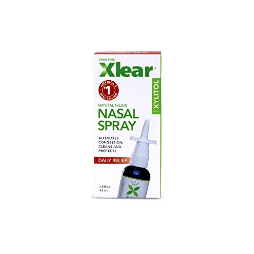 Xlear Nasal Spray for Sinus Relief 1.5 fl oz (Pack of 2)