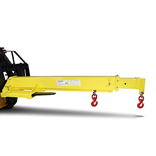 Titan Mobile Crane Forklift Extension with Truss, Hoist, Jib, Boom, and...