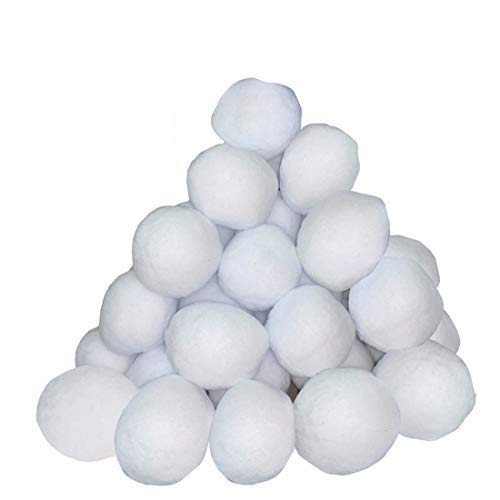 Supoice 30 Pack Snow Fight Balls 3 Inch Large Size Christmas & Winter...