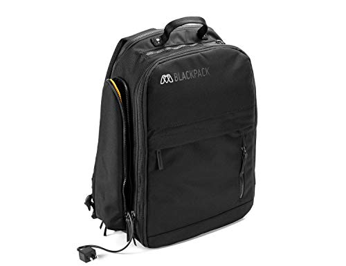 MOS BLACKPACK, Durable Electronics Travel Backpack for 15' Laptop, Tablet...